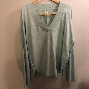 Anthropologie Lou & Grey V-neck Sweater- Size L